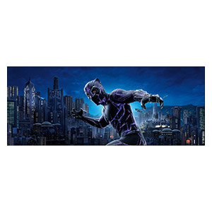 Black Panther. Размер: 150 х 60 см